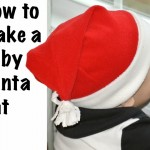 How to sew a baby Santa Hat tutorial