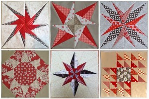 Real Life Red and White Quilt