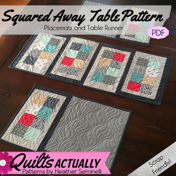 Quilted Placemats pattern
